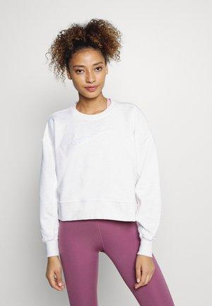 DRY GET FIT CREW - Sweatshirt - white heather/summit white
