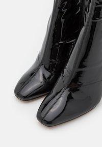 ALDO - EDIGORWEN - Bottes à talons hauts - black - 5
