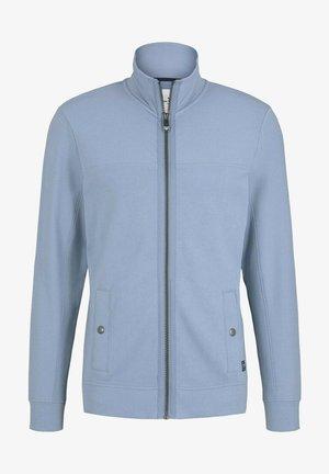 MIT STEHKRAGEN - Zip-up sweatshirt - yonder blue