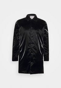 Rains - DRIFTER COAT UNISEX - Krátký kabát - black - 0