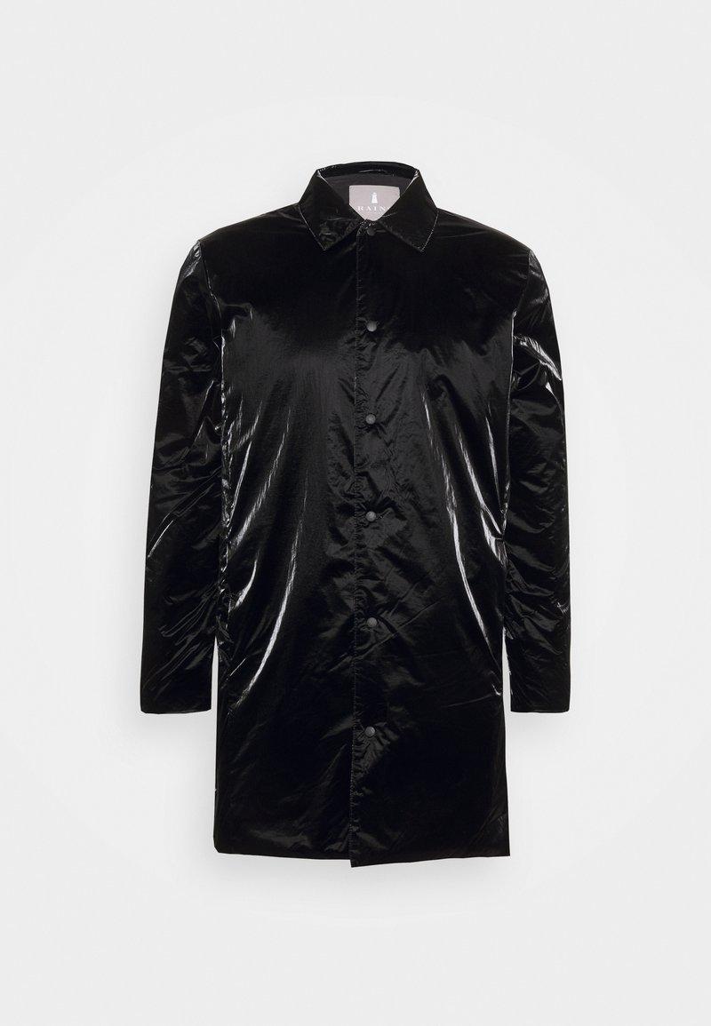 Rains - DRIFTER COAT UNISEX - Krátký kabát - black