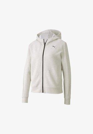 NU TILITY - Zip-up hoodie - white heather
