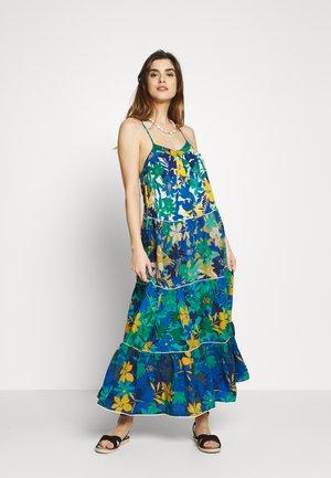 STRAPS LONG DRESS - Beach accessory - multicolor