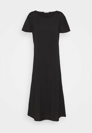 VALERIE BACK DRESS - Shirt dress - black