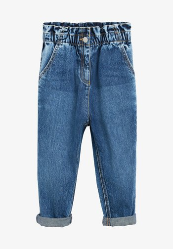 Jeansy Relaxed Fit - dark-blue denim
