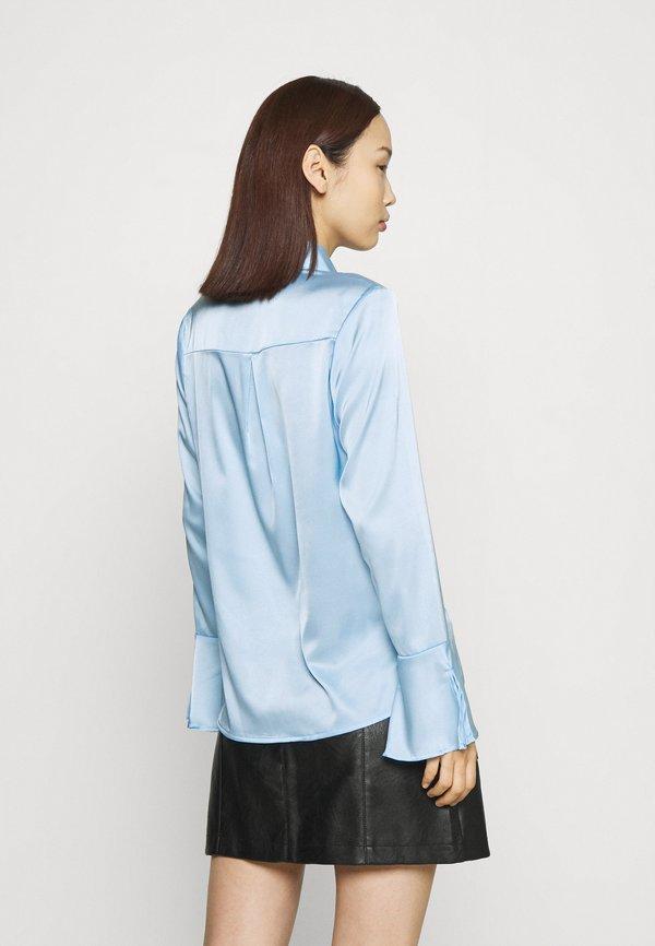 Glamorous STUDIO EAGGERATED COLLAR BLOUSES - Koszula - light blue/jasnoniebieski EDSX