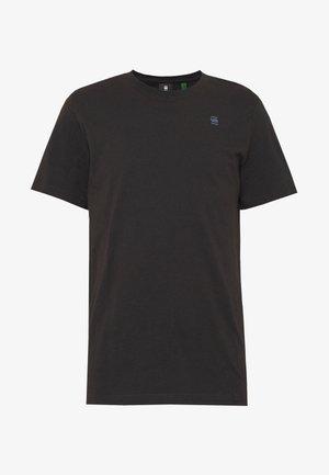 BASE-S R T S\S - Basic T-shirt - black