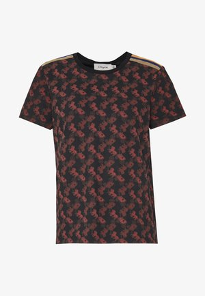 70S  - Print T-shirt - black
