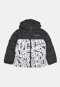 Columbia - PIKE LAKE JACKET - Winter jacket - black/white - 0