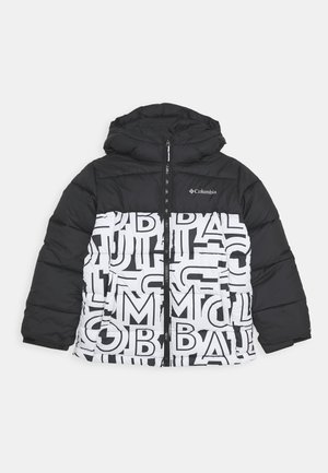 PIKE LAKE JACKET - Zimní bunda - black/white