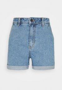 Object Tall - OBJPENNY FOLD - Shorts di jeans - light blue denim - 0