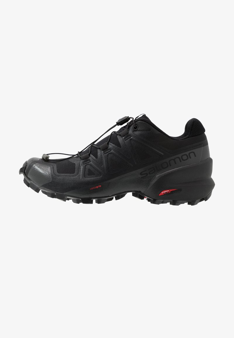 Salomon - SPEEDCROSS 5 - Trail running shoes - black/phantom