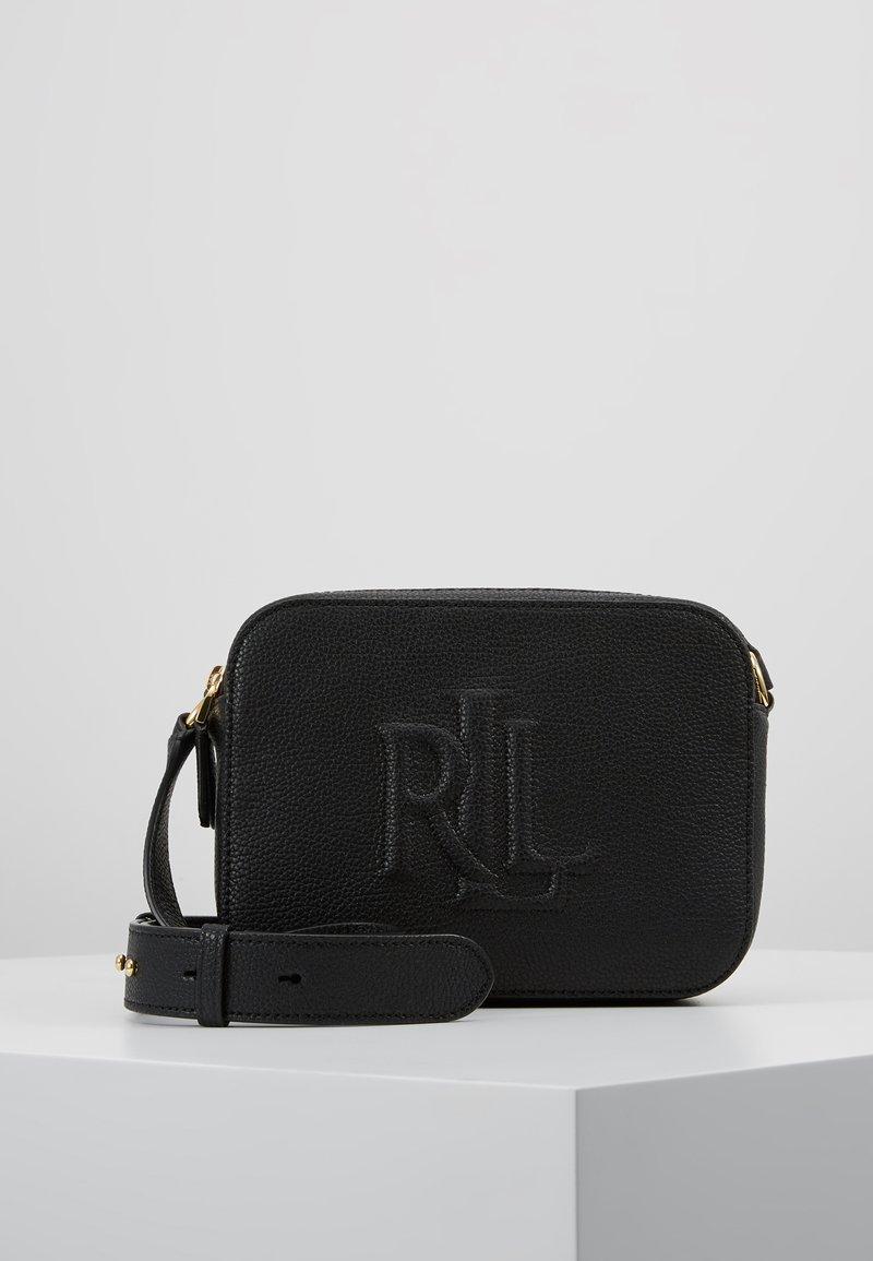 Lauren Ralph Lauren - CLASSIC PEBBLE HAYES - Across body bag - black