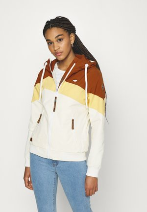 NUGGIE BLOCK - Summer jacket - cinnamon