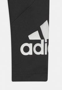 adidas Performance - UNISEX - Leggings - black/white - 2
