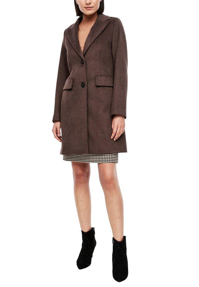 Wollmantel/klassischer Mantel - brown