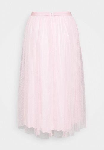 MIDI SKIRT - Áčková sukně - pale pink
