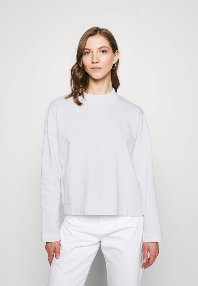 LOOSE LERDALA - Sweatshirt - white