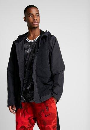LEBRON PROTECT - Blouson - black/team orange
