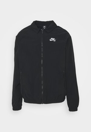 ESSENTIAL JACKET UNISEX - Summer jacket - black/white