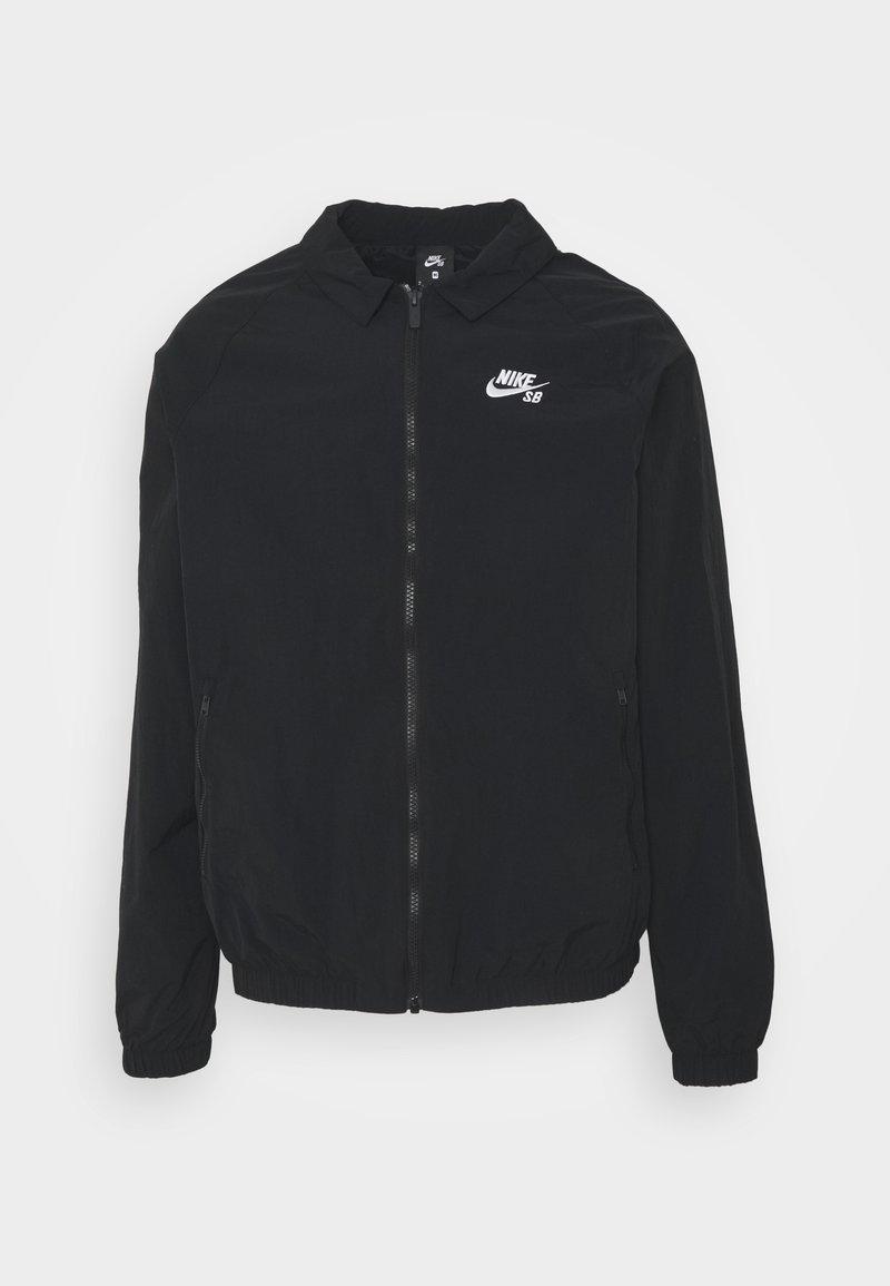 Nike SB - ESSENTIAL JACKET UNISEX - Kevyt takki - black/white
