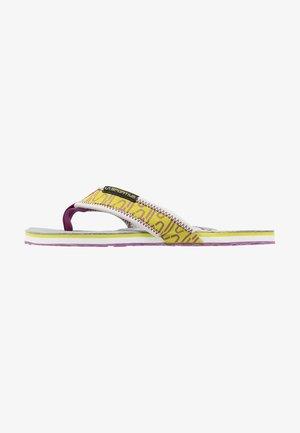 SWING WOMAN - Flip Flops - purple/green