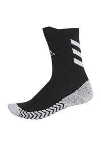 adidas Performance - ALPHASKIN TRAXION CREW SOCKS - Sports socks - black - 1
