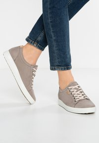 ECCO - SOFT - Trainers - warm grey - 0
