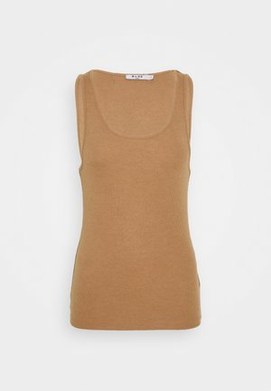 BASIC TANK  - Top - beige