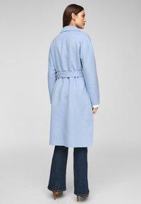 s.Oliver BLACK LABEL - Classic coat - light blue - 2
