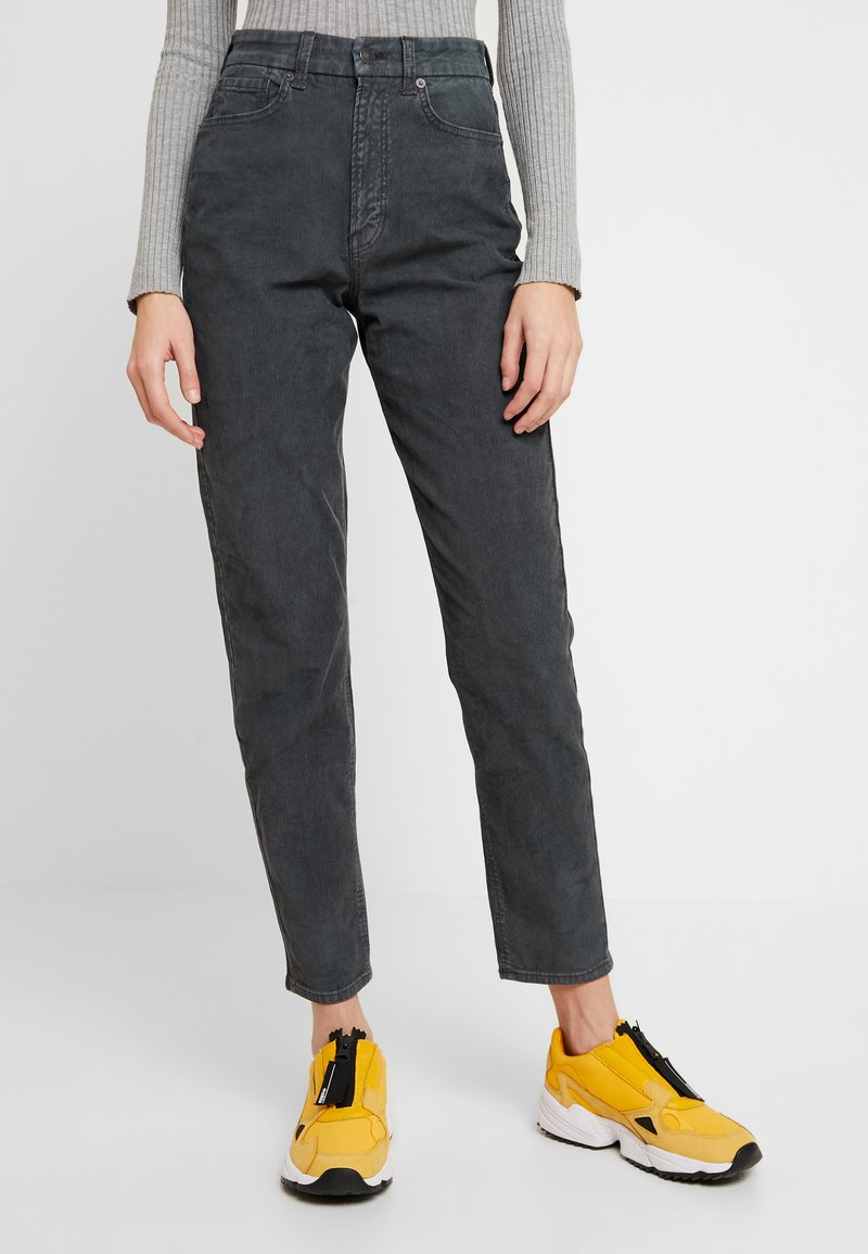 American Eagle - CURVY - Trousers - willow green