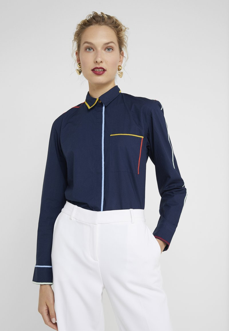 Paul Smith - Button-down blouse - navy