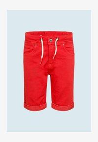 Pepe Jeans - JOE - Denim shorts - rot - 0
