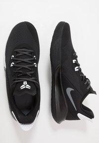 Nike Performance - MAMBA FURY - Basketbalové boty - black/smoke grey/white - 1