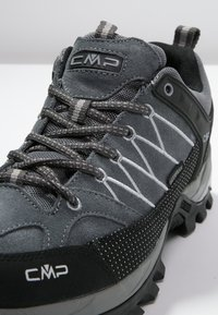 CMP - RIGEL LOW TREKKING SHOES WP - Hiking shoes - grey/mineral - 5