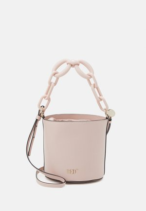 BUCKET BAG - Bolso de mano - nude