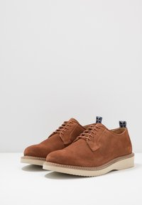 Hudson London - MARDIN - Casual lace-ups - cognac - 2