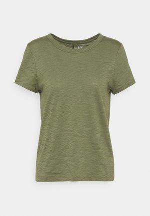 COZY SLUB TEE - T-shirts - desert cactus