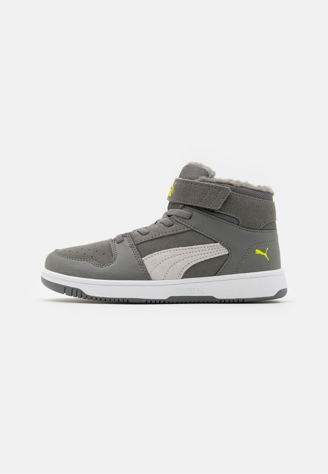 REBOUND LAYUP  - High-top trainers - ultra gray/gray violet/limepunch/white