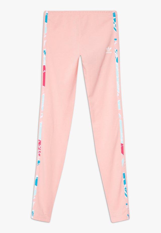 SOLID - Leggingsit - glow pink