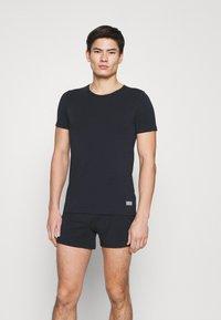 Marc O'Polo - CREW NECK - Pyjama top - nachtblau - 0