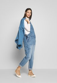 Forever Fit - DUNGAREE - Dungarees - mid blue wash - 1