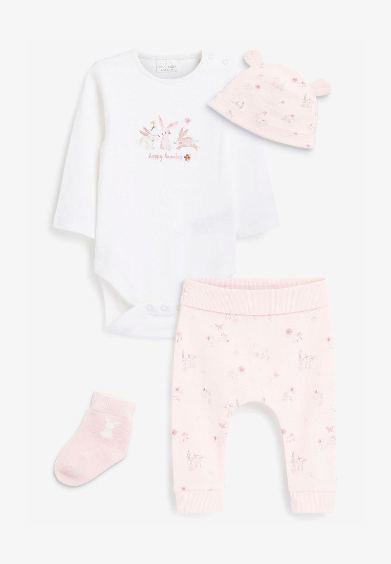 Next - 4 PIECE BUNNY - Pyjama - white
