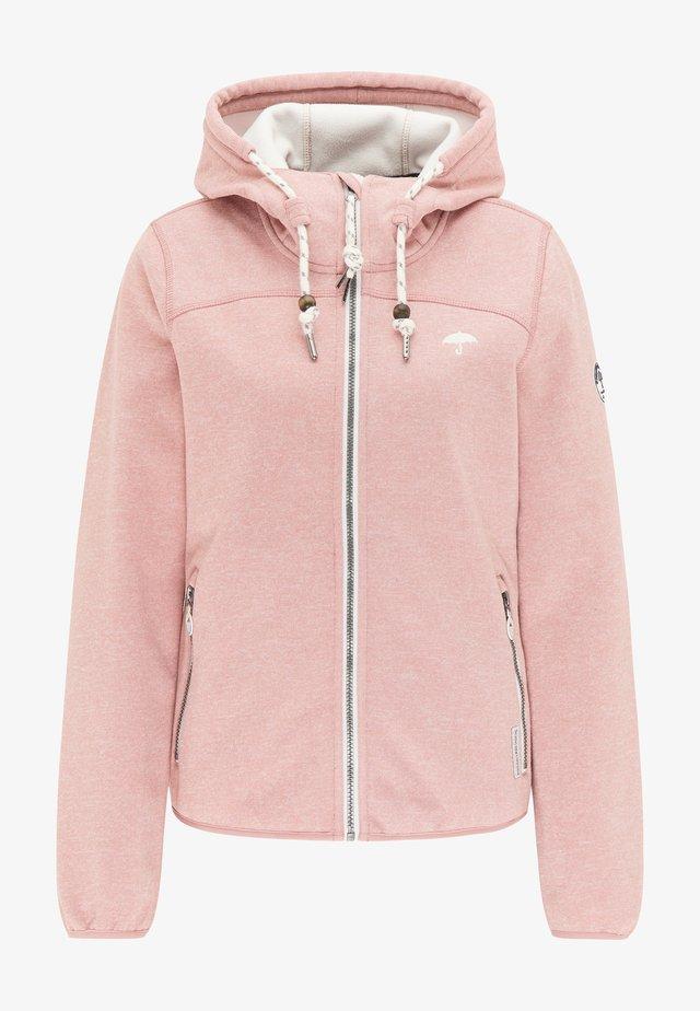 Light jacket - rosa melange