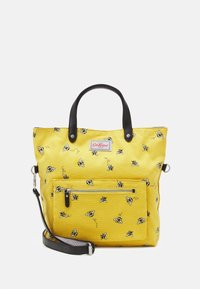 REVERSIBLE CROSS BODY - Handbag - deep yellow