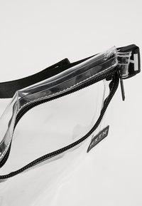 HXTN Supply - PRIME CROSSBODY UNISEX - Taška spříčným popruhem - optic clear - 8