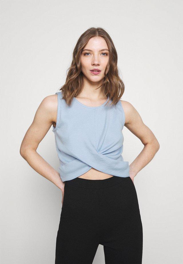 VICARISU - Top - cashmere blue