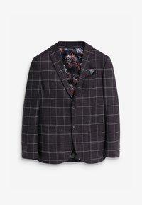 Next - WINDOWPANE - Blazer jacket - dark blue - 4