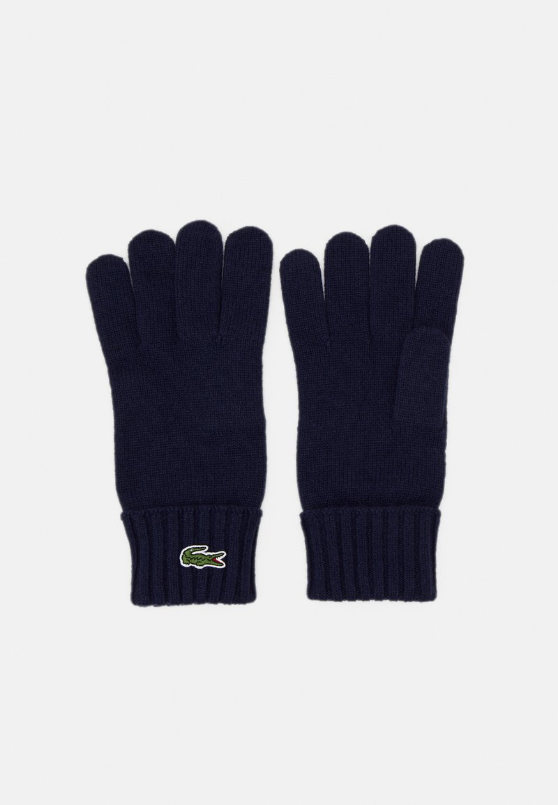 Lacoste - UNISEX - Gloves - navy blue
