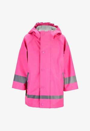 REGENBEKLEIDUNG - Waterproof jacket - pink